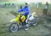 Mit dem Moped den Berg hoch