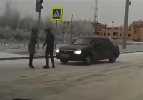 Pass auf, wen du auf Russlands Straße blöd anmachst