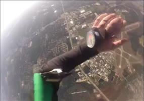 Nervenkitzel beim Fallschirmspringen