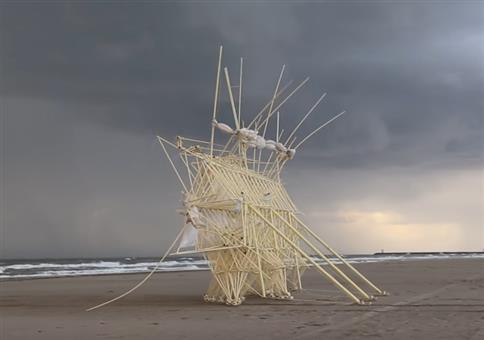 Strandbeest Evolution 2017