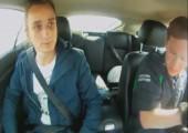Als Beifahrer in einem Jaguar XKR