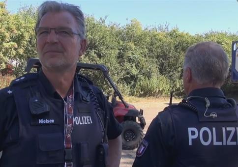 Wacken 2018: Wenn die Polizei den Verkehr regelt