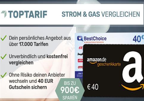 TOP Aktion: 2x 40€ Amazon.de Gutscheine geschenkt!