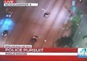 Polizei Verfolgungsjagd im Fernsehen