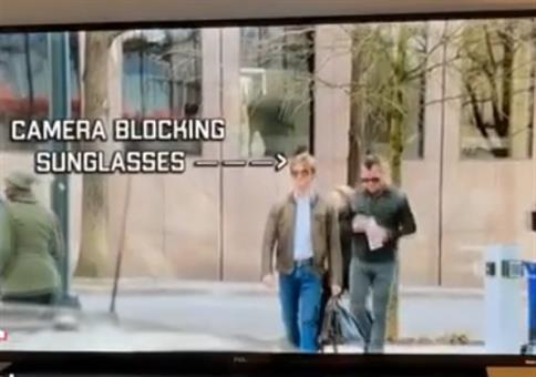 MacGyver Sonnebrille gegen Gesichtserkennung