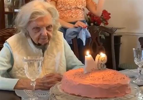 Die Oma wird 94