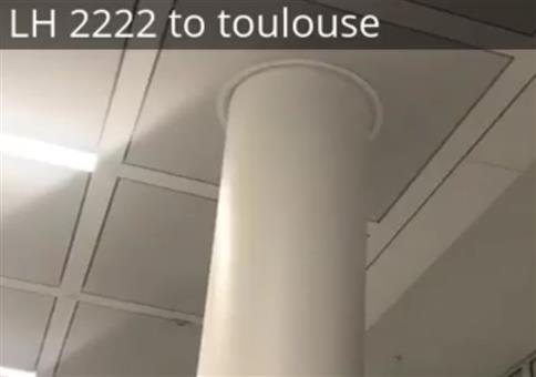 Flug 2222 nach Toulouse