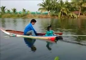 Kanu mit Turboantrieb