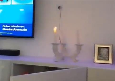 Kerze is aus!