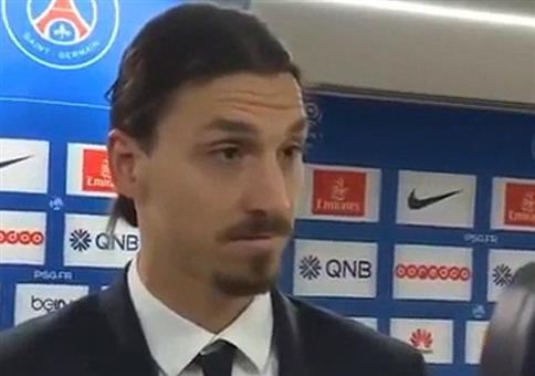 Zlatan Ibrahimovic im Interview