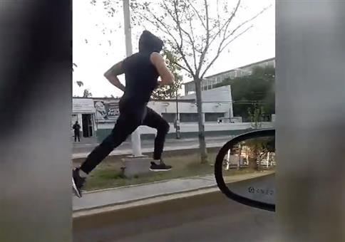 Kleine Motivation beim Joggen