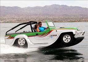 Das schnellste Amphibien-Fahrzeug der Welt