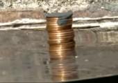 Schmelzende Pennies