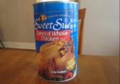 Lecker Hühnchen aus der Dose