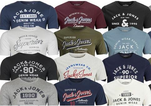 Jack & Jones Herren T-Shirts bis 2XL für je 9,99€