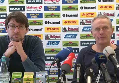 Fußball Presskonferenz: Die Mega Performance