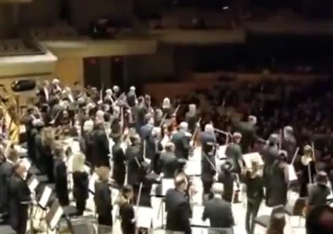 Wenn der Dirigent Geburtstag hat