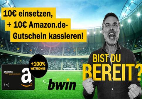 bwin: 20€ Guthaben zum Wetten kostenlos!