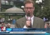 Reporter in New York verarschen