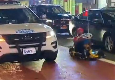 Mario Kart vs Polizei
