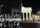 Die Berliner Mauer: Damals und Heute
