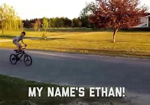 Ethan like trucks