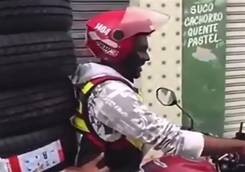 Super Schutz für den Mitfahrer