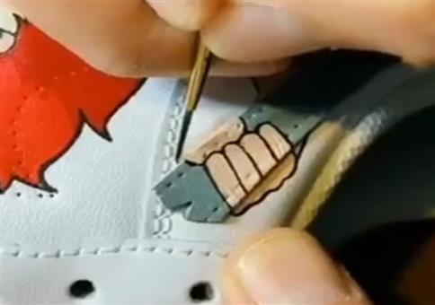Kreatives Schuh-Upgrade