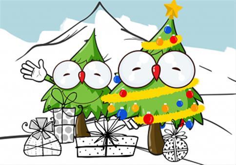 Premium Weihnachtsbäume: Nach Hause liefern lassen