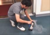 Spielerei mit flüssigem Stickstoff
