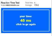 Human Benchmark - Teste deine Reaktionsgeschwindigkeit