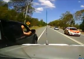 Unglaubliche Road Rage Attacke