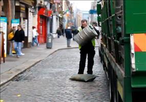 Fässer anliefern in Dublin