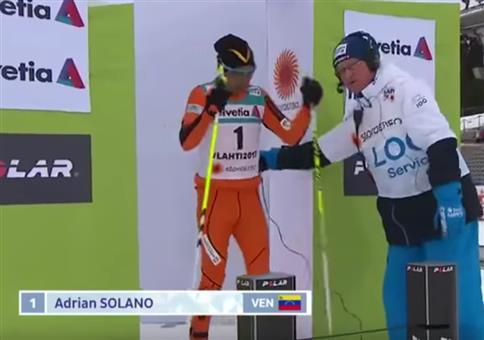 Held bei der nordischen Ski-WM: Adrian Solano