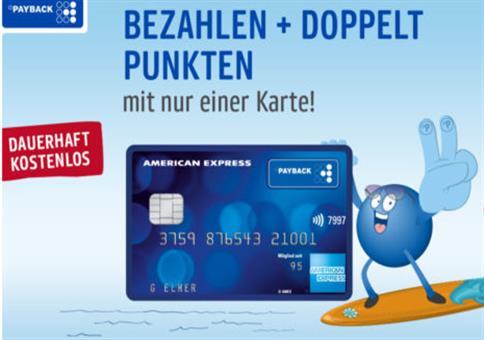 40€ Prämie für kostenlose PayBack American Express Karte!