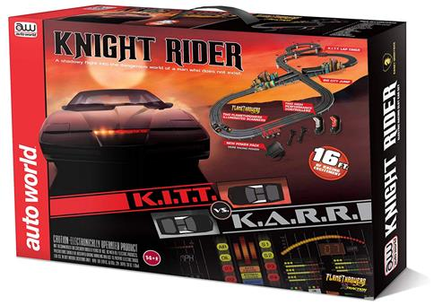 Knight Rider KITT Rennbahn