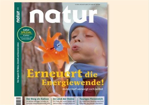 """""""Natur"""" Jahresabo nur 92,40€ + 70€ Verrechnungsscheck"""