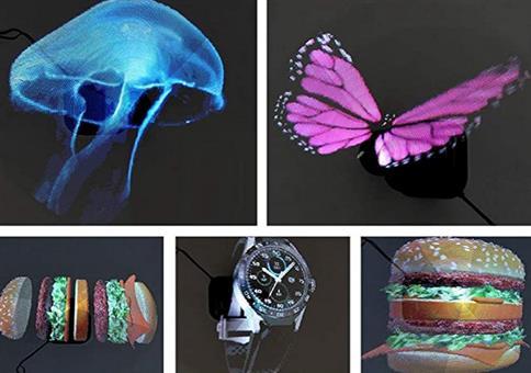 Tragbarer Hologramm-Projektor