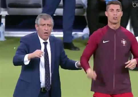 Cristiano Ronaldo probiert sich als Trainer