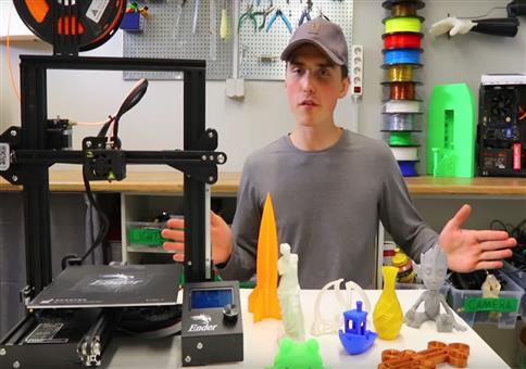 Creality3D Ender - 3D Drucker für unter 150 Euro!