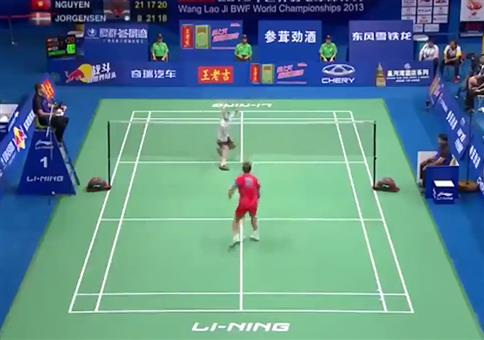 Das nie endende Badminton Match