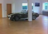 Bürodrifting mit Sportwagen