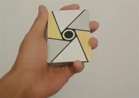 Schöner Fächertrick mit Kartendeck
