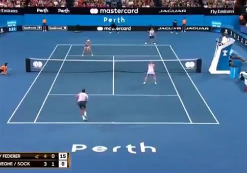 Wenn beim Tennis-Doppel nur noch die Kerle spielen wollen