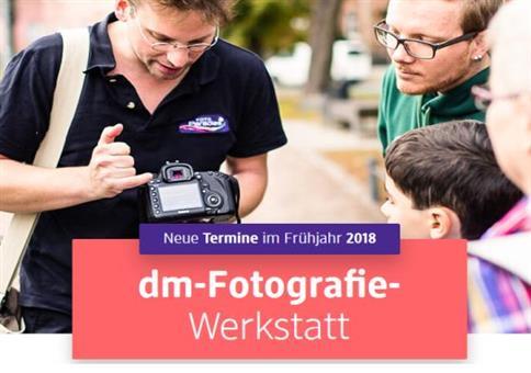 Kostenlos: DM Fotografie Werkstatt 2018