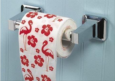 Flamingo Toilettenpapier für 2400 Euro