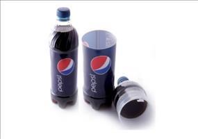 Pepsi-Flasche mit Geheimfach