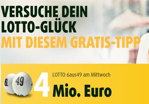 15 Rubellose + 1 Tippfeld EuroJackpot + 1 Tippfeld Lotto6aus49