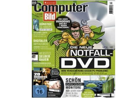 Gratis! 3 Monate Computer Bild mit DVD für 0€