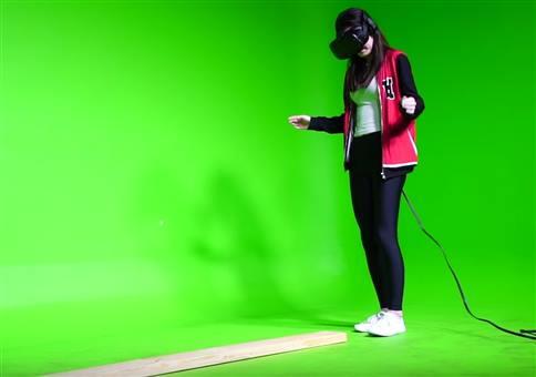 VR Plankenlauf